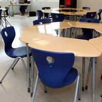 2-CTK School Classroom - Virco Zuma Desks - VS America Compass-LuPo Chairs