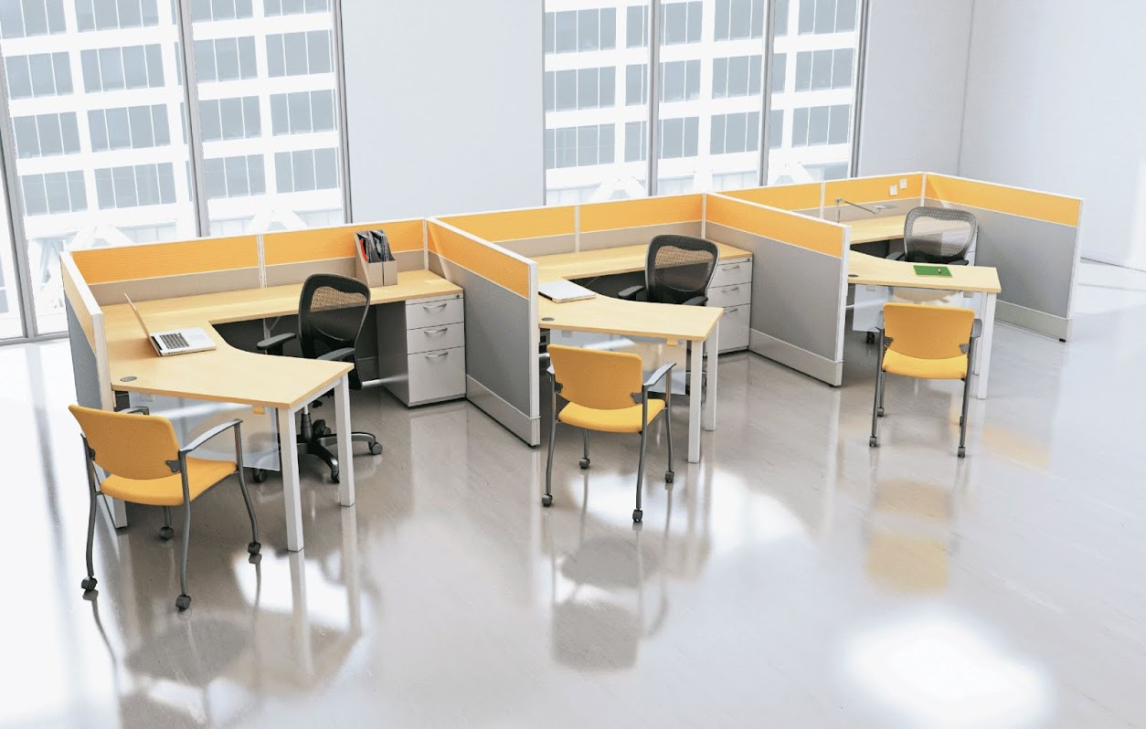 Efficient office design Open Concept Improve Office Work Flow Cubicles Connecting Elements Office Cubicles Charlotte Nc Columbia Sc